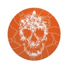 Chainring skull Ornament (Round)
