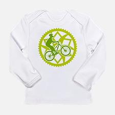 Biker chainring Long Sleeve Infant T-Shirt