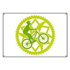 Biker chainring Banner