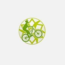 Biker chainring Mini Button