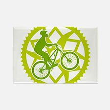 Biker chainring Rectangle Magnet (10 pack)