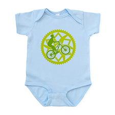 Biker chainring Infant Bodysuit