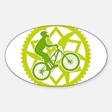 Biker chainring Decal