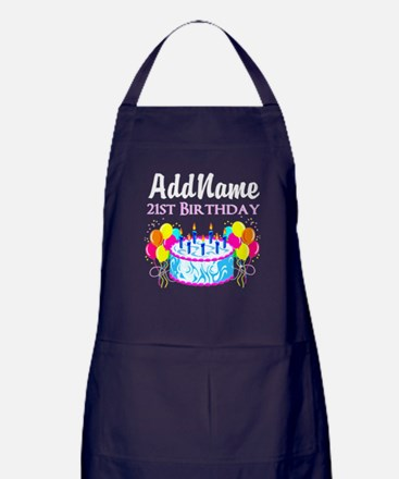 21 YR OLD PARTY Apron (dark)