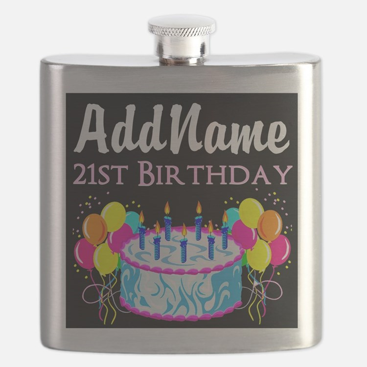 21 YR OLD PARTY Flask