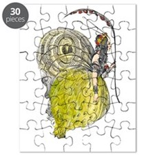 Vintage Butterfly Fairy Puzzle