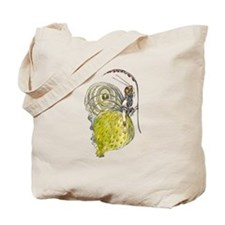 Vintage Butterfly Fairy Tote Bag