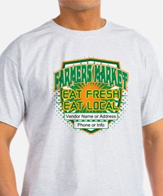 Personalized Farmers Market T-Shirt