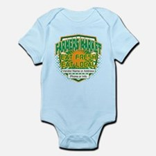 Personalized Farmers Market Infant Bodysuit