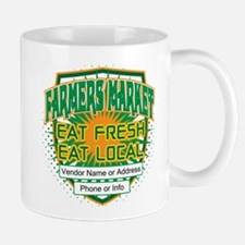Personalized Farmers Market Mug