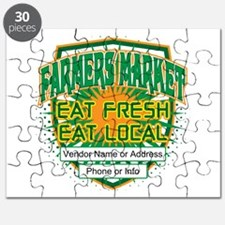 Personalized Farmers Market Puzzle