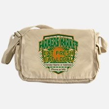 Personalized Farmers Market Messenger Bag