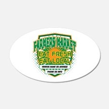 Personalized Farmers Market Wall Decal