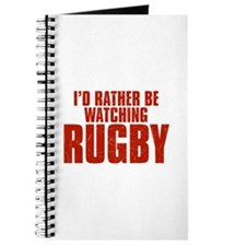 I'd Rather Be Watching Rugby Journal