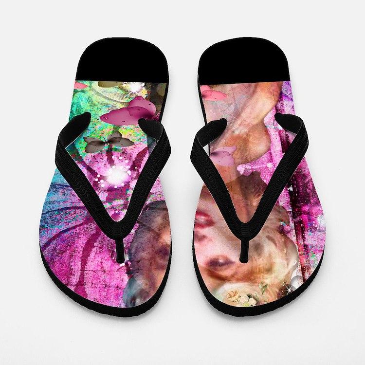 The look of Love Flip Flops