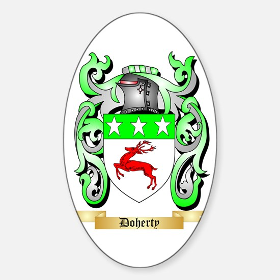 Doherty Sticker (Oval)