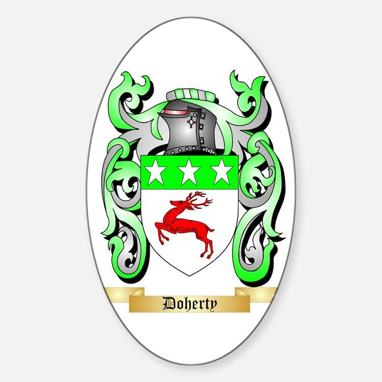 Doherty Sticker (Oval)