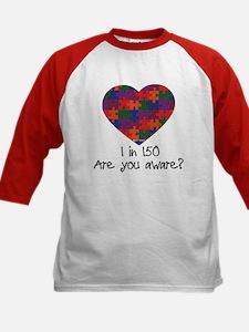 Autism Awareness Month Heart Tee