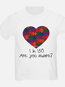 Autism Awareness Month Heart T-Shirt