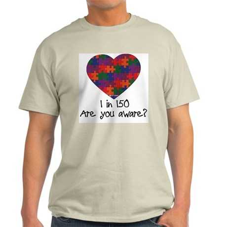 Autism Awareness Month Heart Light T-Shirt