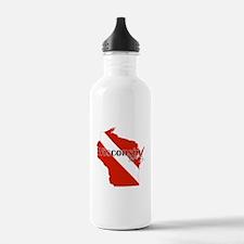 Wisconsin Diver Water Bottle