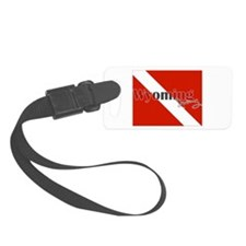 Wyoming Diver Luggage Tag