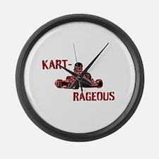 Kart-Rageous Large Wall Clock