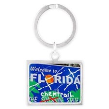 Welcome - To The Chemtrails Sta Landscape Keychain