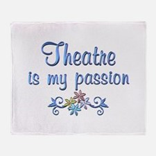 Theatre Passion Throw Blanket