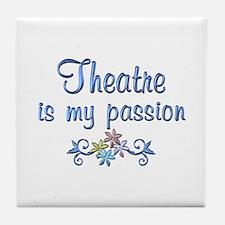 Theatre Passion Tile Coaster