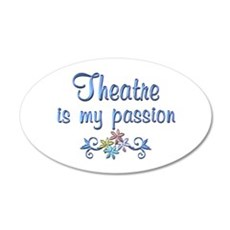 Theatre Passion Wall Decal