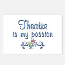 Theatre Passion Postcards (Package of 8)
