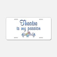 Theatre Passion Aluminum License Plate