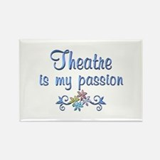 Theatre Passion Rectangle Magnet (100 pack)