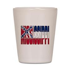 Mississippi Flag Shot Glass