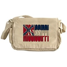 Mississippi Flag Messenger Bag