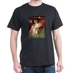 Seated Angel & Boxer Dark T-Shirt