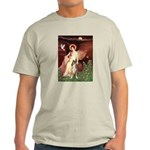 Seated Angel & Boxer Light T-Shirt
