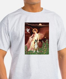 Seated Angel & Boxer T-Shirt