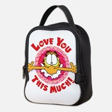 Love You This Much! Neoprene Lunch Bag