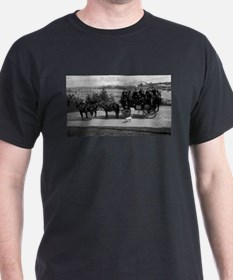 Men riding in a Tally-ho T-Shirt