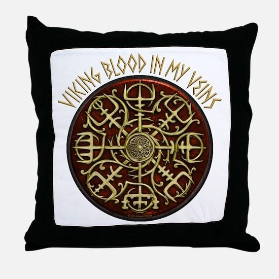Nordic Guidance - Viking Blood Throw Pillow