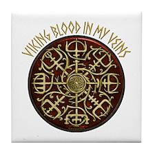 Nordic Guidance - Viking Blood Tile Coaster