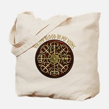Nordic Guidance - Viking Blood Tote Bag