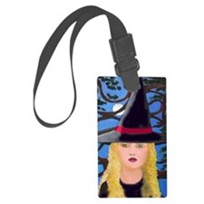 A Witches Full Moon Luggage Tag