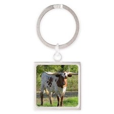 Regal Beauty Square Keychain