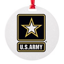 U.S. Army Star Logo Ornament