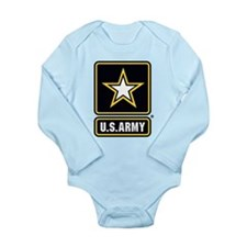 U.S. Army Star Logo Long Sleeve Infant Bodysuit