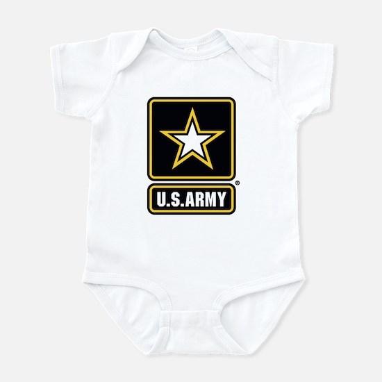 U.S. Army Star Logo Infant Bodysuit