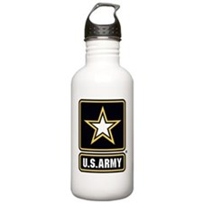 U.S. Army Star Logo Water Bottle
